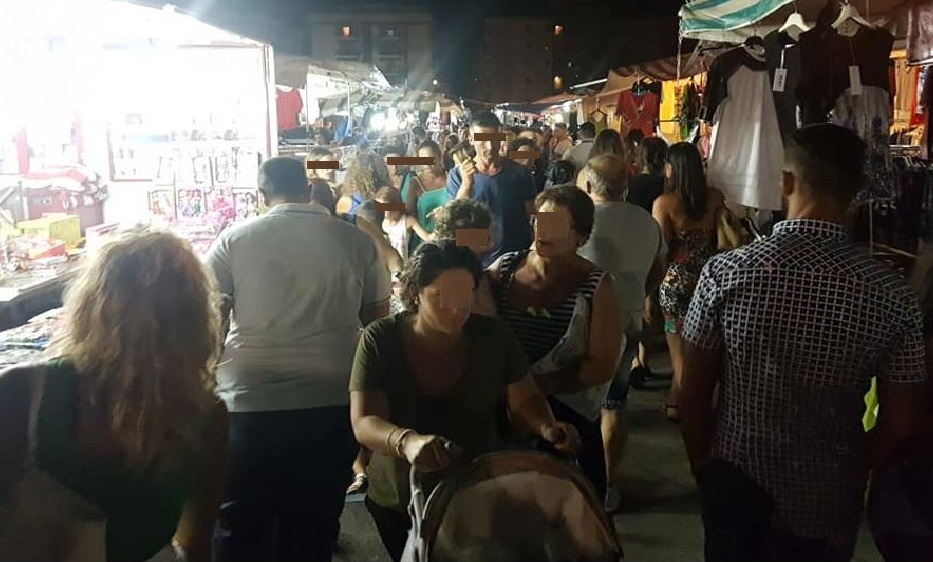 mercato battipaglia sera