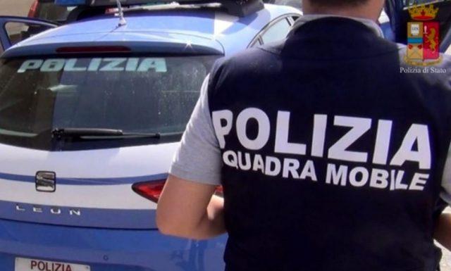 squadra mobile polizia rapina Salerno