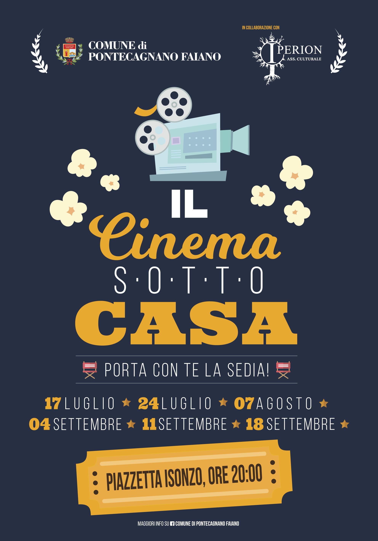 "Pontecagnano, al via ""Il cinema sotto casa"""