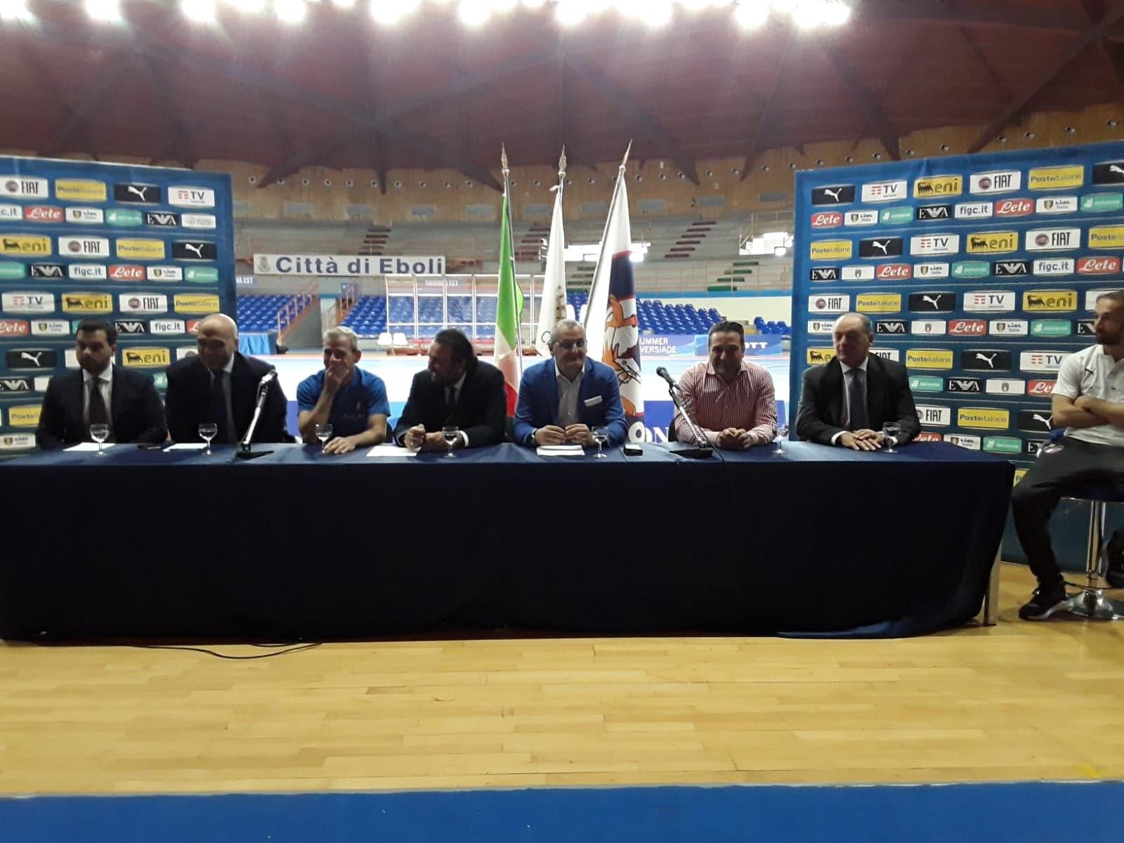 Eboli, Nazionale Italiana Futsal: main round di qualificazione al mondiale