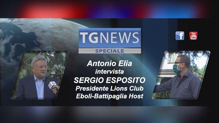 Sergio Esposito, Speciale Tg