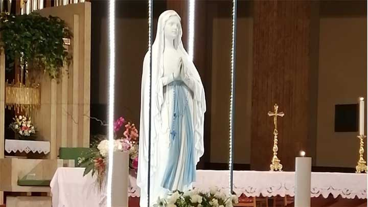 madonna di Lourdes Battipaglia