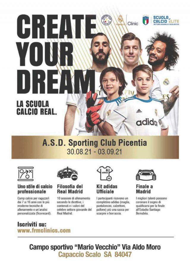 Clinic Real Madrid Capaccio Paestum