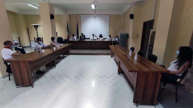 Consiglio comuunale di Albanella